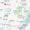 在台东区购买1R 公寓大厦的 地图
