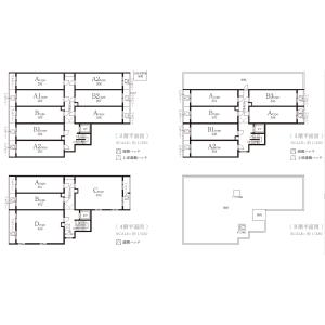 Whole Building {building type} in Wada - Suginami-ku Floorplan