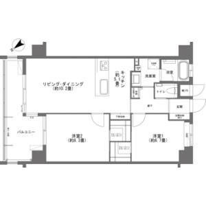 2LDK {building type} in Maeda - Kunigami-gun Onna-son Floorplan