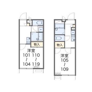 1K Apartment in Takano shimizucho - Kyoto-shi Sakyo-ku Floorplan