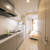 1R Serviced Apartment to Rent in Osaka-shi Fukushima-ku Kitchen