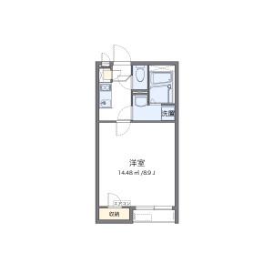 1K Apartment in Zama-shi Floorplan