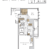 2LDK Apartment to Buy in Osaka-shi Nishi-ku Floorplan