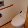 2SLDK Apartment to Rent in Minato-ku Toilet
