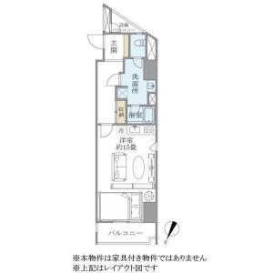 1R Mansion in Ichibancho - Chiyoda-ku Floorplan
