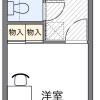 1K Apartment to Rent in Shizuoka-shi Shimizu-ku Floorplan