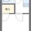 1K 아파트 to Rent in Kawasaki-shi Tama-ku Floorplan