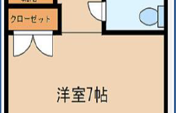 1R {building type} in Kogane - Kitakyushu-shi Kokurakita-ku