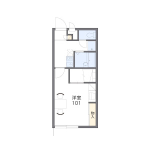 1K Apartment in Tsumori - Oita-shi Floorplan