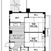 在船橋市內租賃2DK 公寓大廈 的房產 房間格局