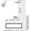 1K アパート 笠間市 配置図