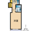 1R Apartment to Buy in Yamato-shi Floorplan