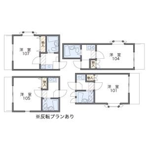 1K Apartment in Ijiri - Fukuoka-shi Minami-ku Floorplan