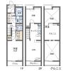 2LDK Apartment to Rent in Niiza-shi Floorplan