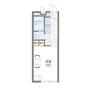 1K Apartment in Kawagishi - Toda-shi Floorplan