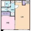 1LDK Apartment to Buy in Shibuya-ku Floorplan