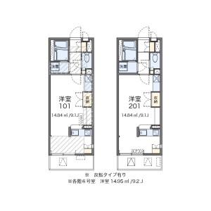 1R Mansion in Fujimi - Urayasu-shi Floorplan