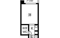1R {building type} in Imaizumi - Fukuoka-shi Chuo-ku