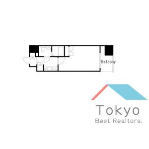 1K Mansion in Konan - Minato-ku Floorplan