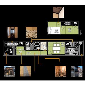 4K {building type} in Fukuine goshonochicho - Kyoto-shi Higashiyama-ku Floorplan