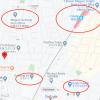 2SLDK 戸建て 目黒区 地図