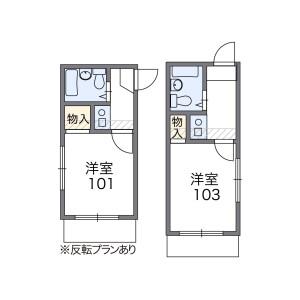 1K Mansion in Eharacho - Nakano-ku Floorplan