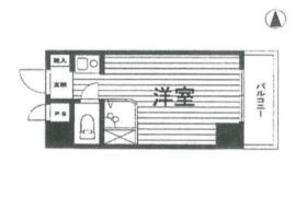 1R {building type} in Minamiazabu - Minato-ku