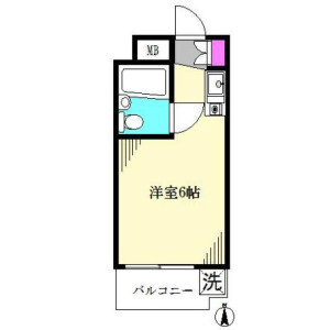 1R Mansion in Asagayaminami - Suginami-ku Floorplan