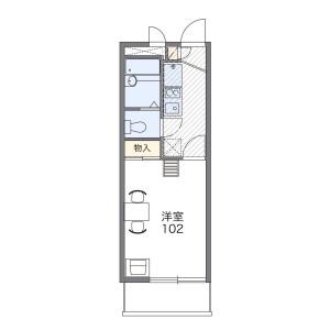 1K Mansion in Komone - Itabashi-ku Floorplan