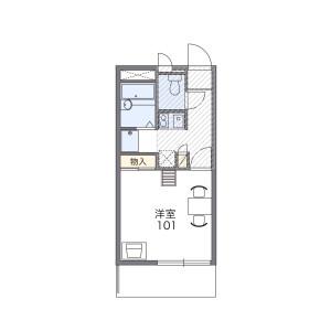 1K Mansion in Sagamino - Zama-shi Floorplan