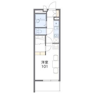 1K Mansion in Kamikawacho - Seto-shi Floorplan
