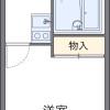 1K Apartment to Rent in Higashiyamato-shi Floorplan