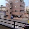 在船橋市内租赁1K 公寓大厦 的 阳台/走廊