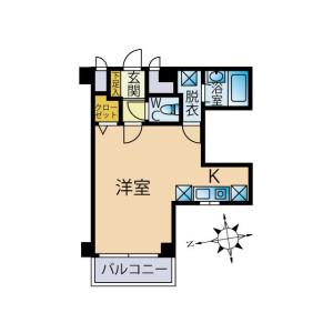 1R {building type} in Takada - Toshima-ku Floorplan