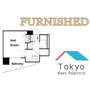 1K Mansion in Kamiikebukuro - Toshima-ku Floorplan
