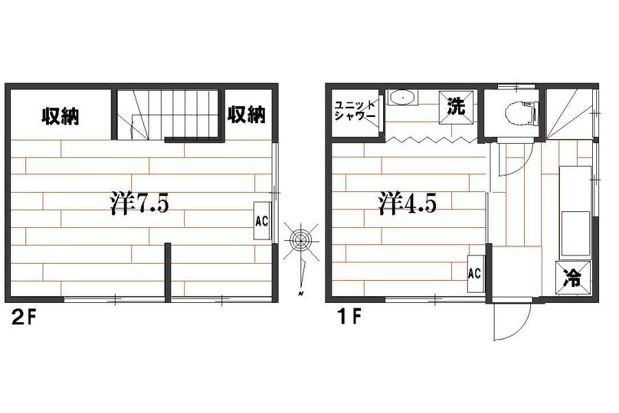 3K House to Buy in Nakano-ku Floorplan