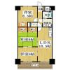 3LDK Apartment to Rent in Yokkaichi-shi Floorplan