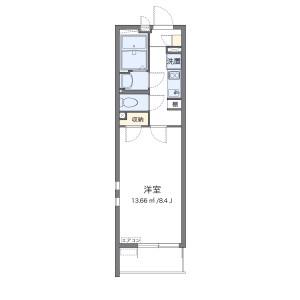 1K Mansion in Misato - Misato-shi Floorplan
