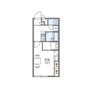 1K Apartment in Gobu - Narita-shi Floorplan