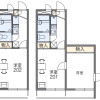 2K Apartment to Rent in Adachi-ku Floorplan