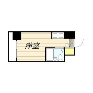 1R Mansion in Nakamurakita - Nerima-ku Floorplan