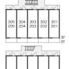 1K Apartment to Rent in Chiba-shi Inage-ku Layout Drawing
