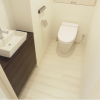1SLDK Apartment to Rent in Minato-ku Toilet