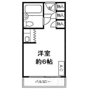 1R {building type} in Kandasurugadai - Chiyoda-ku Floorplan