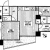 1SDK Apartment to Rent in Arakawa-ku Floorplan