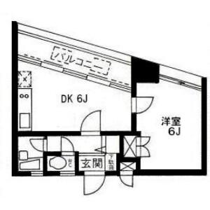 1DK Mansion in Hiroo - Shibuya-ku Floorplan