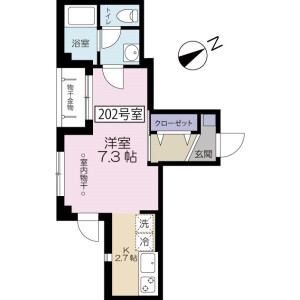 1K Mansion in Hikawadai - Nerima-ku Floorplan
