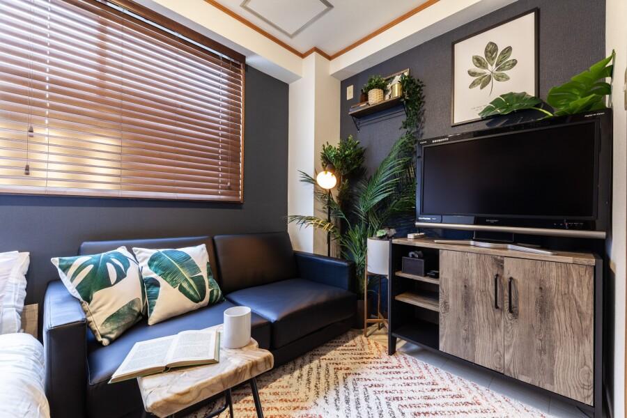 1LDK Apartment to Rent in Kita-ku Bedroom