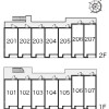 1K Apartment to Rent in Hachioji-shi Map