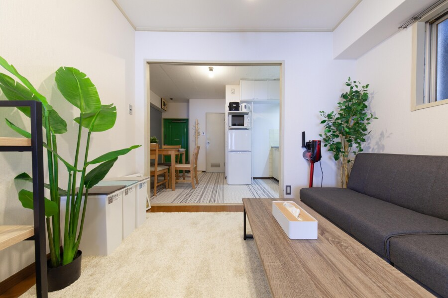 2DK Apartment to Rent in Taito-ku Living Room